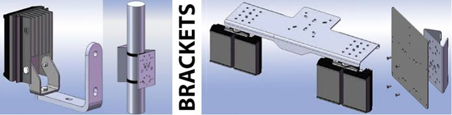 Brackets for Illuminators