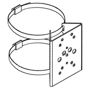 PBC-1 - Pole mount bracket