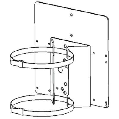 PBC-1-PSU-1 - Pole Mount Bracket for 1 x Illuminator + 1 x PSU for RM / RL 25, 50, 100 and 200 series only