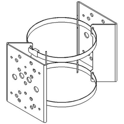 PBC-2 - Pole mount bracket