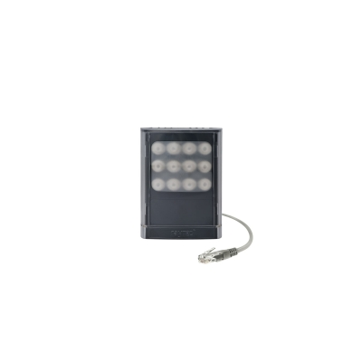 VARIO 2 IP PoE HYBRID hy6-1 - VAR2-IPPoE-hy6-1 Medium Range Hybrid Network Illuminator (IR + WL) - Combined Infra-Red and White-Light Network illuminator in a single panel unit (12/24V) - up to 180 m in IR and 88 m in WL