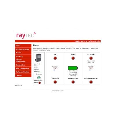 VARIO 2 IP - VAR2-IPPoE-i8-1 Long Range Infra-Red Network Illuminator